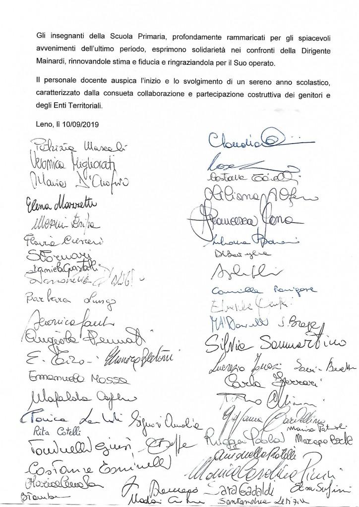 Documento con firme docenti Primaria IC Leno_sett 2019